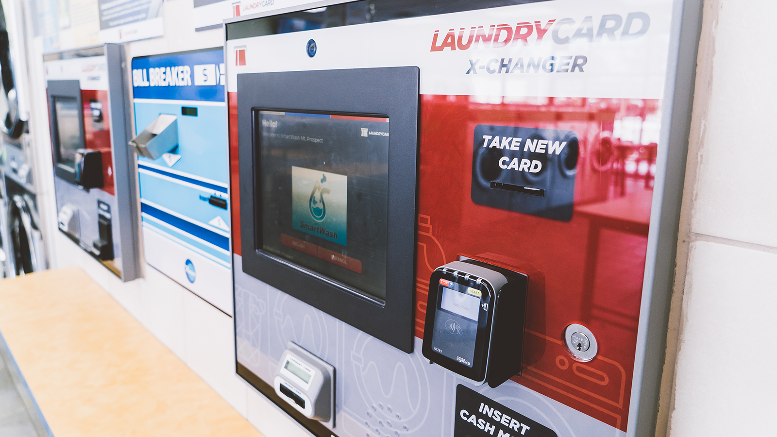 LaundryCard | All-In-One Laundry Management System | Card-Only